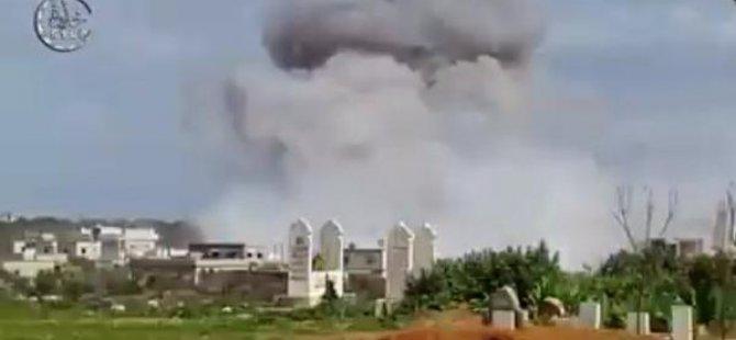 Suriye'de Camiye Vakum Bombalı Saldırı