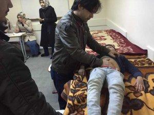 AID ve Özgür-Der'den Suriyeli Öğrencilere Sağlık Taraması