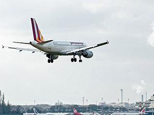 Alman Yolcu Uçağı Fransa'da Düştü