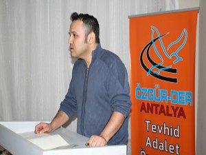 """Antalya'da """"Gençlik ve Sorunları"""" Semineri"""