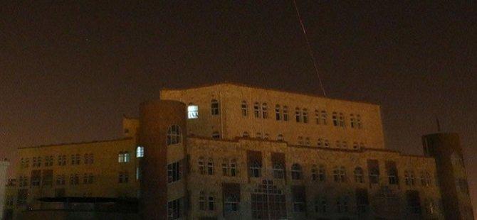 Yemen'de Stratejik Noktalar Hedef Alındı