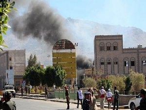 Yemen'de Husilere Ait Hedefler Vuruluyor
