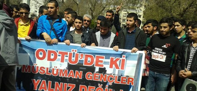 ODTÜ'deki Barbarlığa Kahramanmaraş'tan Tepki
