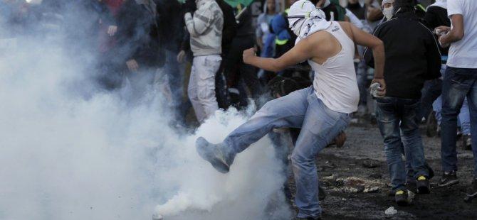 Siyonist İsrail Askerleri Filistinlilere Ateş Açtı