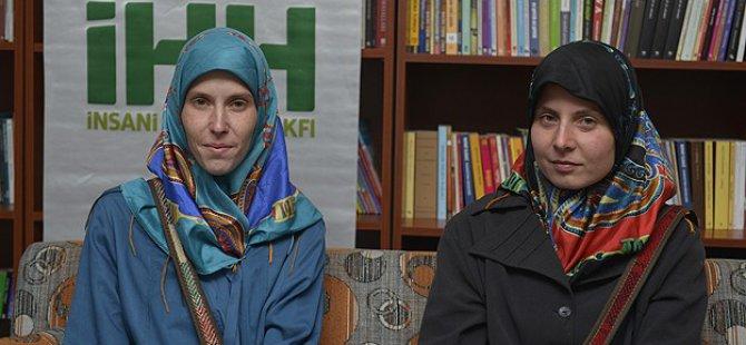 Pakistan'daki Çek Rehineler İHH Tarafından Getirildi