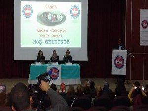 """Diyarbakır'da """"Kadın Gözüyle Çözüm Süreci"""" Paneli"""