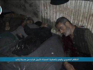 Esed Güçleri Tutsakları İnfaz Ettikten Sonra İdlib'den Kaçtı