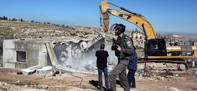 Siyonistler 350 Nüfuslu Köyü Yıkacak