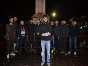 Bingöllü Gençlerden Suud ve İran'a Protesto