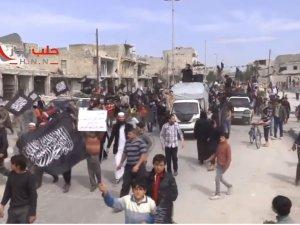İdlib Zaferi, Halep'te Kutlandı