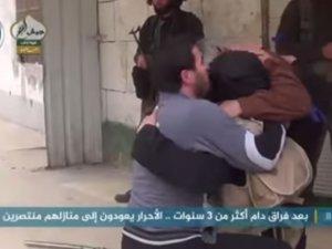 İdlibli Mücahit Yıllar Sonra Ailesine Kavuştu