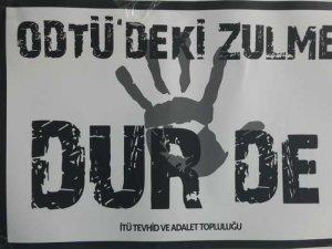 İTÜ'lü Müslüman Öğrenciler Hadsizliklere Sessiz Kalmadı