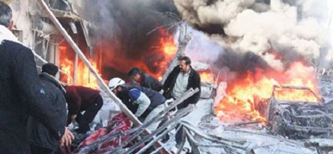 İdlib'e Klor Gazlı Saldırı