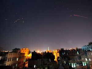Yemen'e Hava Saldırıları Sürüyor