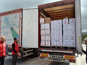 Türkiye'den İdlib'e 50 Ton Gıda Yardımı