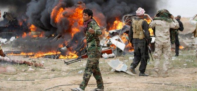 """""""Tuzaklar Tikrit'e İlerlemeyi Yavaşlatıyor"""""""