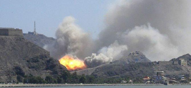 Yemen'de Mülteci Kampı Yakınına Saldırı: 40 Ölü