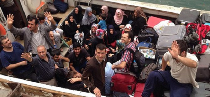 Yemen'deki 55 Türkiye Vatandaşı Tahliye Edildi