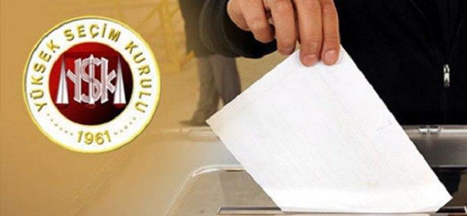 Seçimde Yarışacak 20 Siyasi Parti