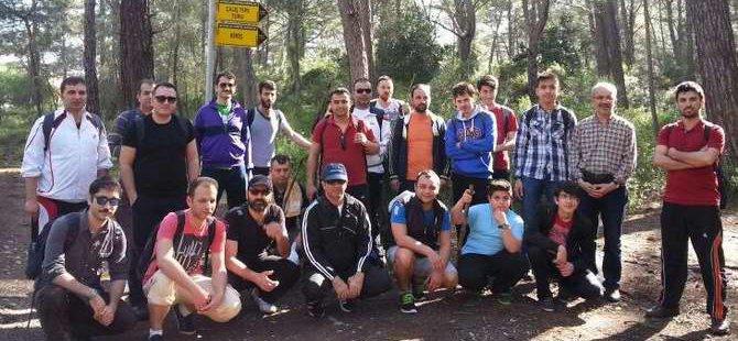 Özgür-Der Antalya Üyeleri Doğa Yürüyüşü Gerçekleştirdi