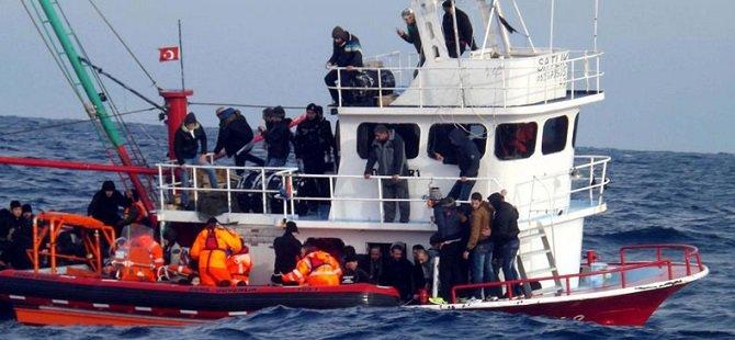 Batan Bottaki Suriyeli Göçmenler Kurtarıldı