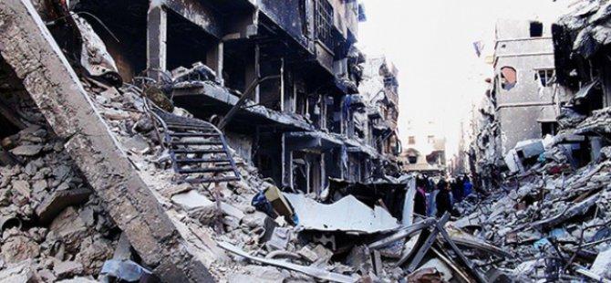 Yermuk Mülteci Kampına Varil Bombalı Saldırı