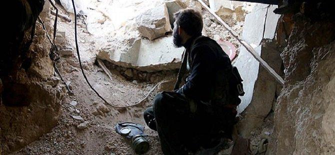"""Suriye'de """"Hendek ve Tünellerle"""" Savunma Hattı"""