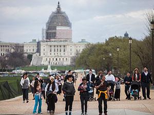 ABD'nin Başkenti Washington'da Elektrik Kesintisi