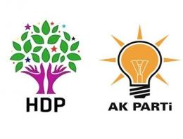 Bölgede HDP-AK Parti Taktik Savaşları