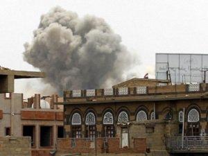 Husilerin Silah Depoları Bombalandı