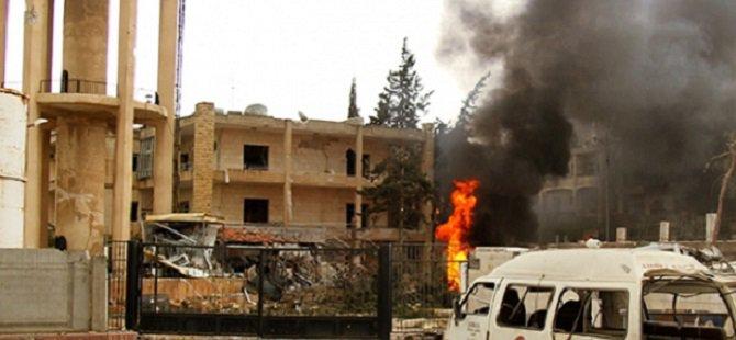 Esed Yermuk Kampına Varil Bombasıyla Saldırdı
