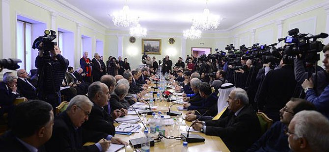 Moskova'daki Suriye Toplantısı Fiyasko İle Sonuçlandı