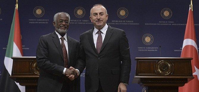 Çavuşoğlu Sudan Dışişleri Bakanı İle Görüştü