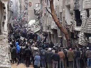 Yermuk'ta Yaşanan Büyük Acılar (FOTO)