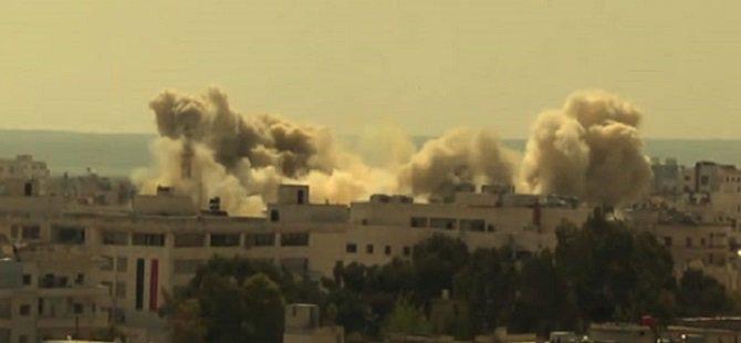 Esed Rejimi Kaybettiği İdlib'i Enkaza Çeviriyor (VİDEO)