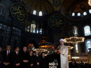 Ayasofya'da 85 Yıl Sonra İlk Kez Kur'an Okundu