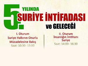 Marmara Üniversitesinde Suriye Sempozyumu Yapılacak