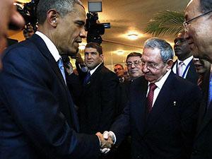 """Obama: """"Küba, ABD İçin Bir Tehdit Değildir"""""""