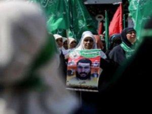 Filistinli Kadınlar Siyonist İsrail'i Protesto Etti