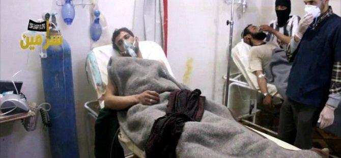Esed Rejimi İdlib'de Yine Kimyasal Kullandı