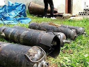 İdlib'de Patlamamış Varil Bombasında Kimyasal Madde