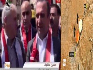 Şam Valisi ve 3. Tümen Komutanını Taşıyan Araca Pusu