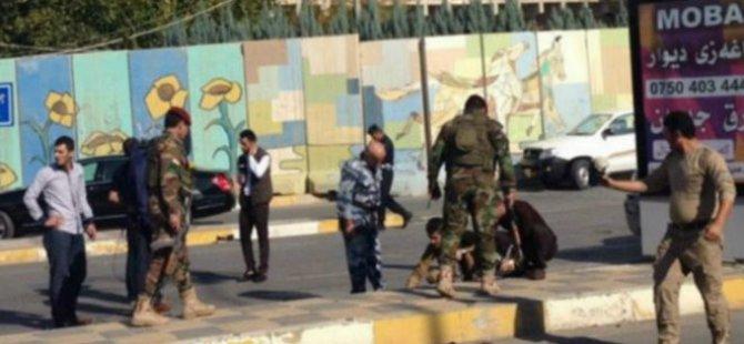 Erbil'de ABD Konsolosluğu Yakınında Bombalı Saldırı