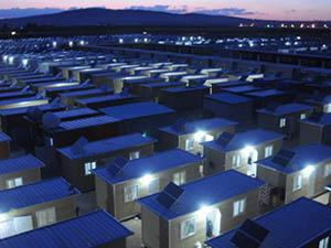İHH Suriye'de Kampları Aydınlatıyor