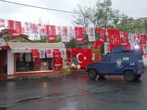 İstanbul'da MHP Seçim Bürosuna Silahlı Saldırı