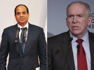 Sisi, CIA Başkanı Brennan İle Görüştü