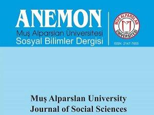 Muş Üniversitesi Anemon'un Yeni Sayısını Yayınladı!