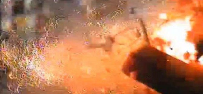 Siyonist İsrail'in Aşdod Kentinde Patlama