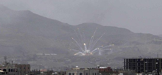 Husilere Ait Mevziler Bombalandı