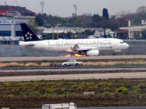 Uçak Kazasında Yaralanma Yok Ama 45 Sefer İptal